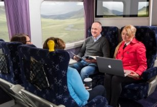 Get into the Christmas spirit with Caledonian Sleeper