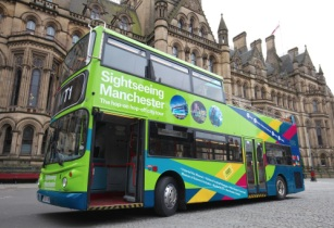 New sightseeing bus drives tourism forward in Manchester