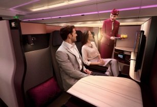 New 'QSuite' from Qatar Airways