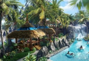Private cabana upgrades available at Universal's Volcano Bay
