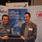 Icelandair: Nick Beauchamp, Winner from Kuoni Travel: David McKenzie