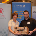 United Airlines: Jane Beeley, Winner from Egenzia: Daniel Baker