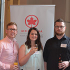 Air Canada:Kevin Rogers (LEFT), Agents from Egenzia: Caroline Whitmore, Daniel Baker