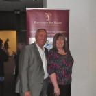 Graham Hawkins of Harlequin Resorts and Sharon Keaveney of Inspired Travel Nuneaton