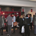 Drinks reception at Birmingham's Crowne Plaza Hotel.