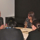 Max Tchanturia of Half Moon Resorts presents to Birmingham agents