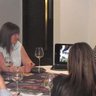 Fiona Moss of Hard Rock Hotels All Inclusive Collection presents to Birmingham agents