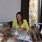 Jane Bolton of Couples Resorts presents to Birmingham agents