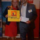 Nicola Cullen from Sandy Lane Travel wins a Fam trip place to Cyprus from Stelios Constantinides Cyprus tourist office