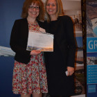 Charlotte Gallop wins an accomdation stay from Claire Griffiths and Sani Resort