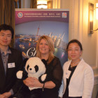 Li Wang CNTO with Gaynor Bates Thomas Bury and Rachel Hu, CNTO