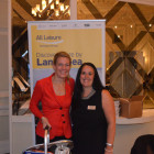 Stephanie Robinson, Moorend Travel with a summer hamper and Hayley Anderson, All leisure holidays