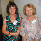 Sue Todd, Inspired Travel; Gwyneth Prosser, Travel Counsellors