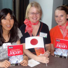 Yumi Takakubo, Japan National Tourist Office; Suzanne Kimberley and Rebecca Davis – both Co-Operative Travel