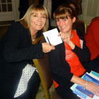 Gemma Hewitt, Key Travel. Winner of M&S Vouchers in the Indian Ocean Bingo