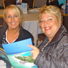 (l to r) Louise Hall, Bowman Travel; Fae Bowman, Bowman Travel