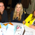 (l to r) Liz Lomer, Flight Centre; Alex Harden, Flight Centre; Stefanie Bowes, Birmingham Airport