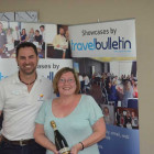 Bryan Arnicar, Trainer Tourism Australia with Ann Barber (Travel Counsellors)