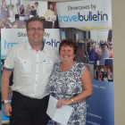 Darren Mussell Agent sales Assistant Manager Riviera travel with Linda France, Worldwide Dream Villas and Holidays