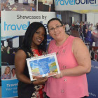 Sola Thomson, Account Manager, Pure Grenada with – Laura M'hadhbi (Co-op Travel Hazel Grove)