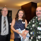 Drinks reception agents Richard Aber, Spitfire Travel Katie Constable, Virgin Holidays Addlestone Right: Alex Sutherland-Jones, Coast to Coast