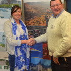 Hannah Winter ( Virgin Holidays ) wins a £ 50 gift voucher from Duncan McCubbin, North Carolina