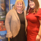 Winning Thorton's Chocolate Hamper, courtesy of Sharon Tait ( Titan ) was Ann Mercer from Mercer Travel