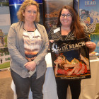 Nicola Shires from Brilliant Travel, winning the 3 night stay with the South Beach Group, courtesy of Lauren Koston.