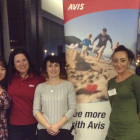 Natalie Hyman, Holidayplease; Helen Crosbie, AVIS; Sonia Dixon, Holidaysplease; Heather Winters, Holidaysplease; Mark Cornock, AVIS