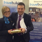 Kellie West, Thomas Cook Birmingham; Simon Eddolls, Travel Bulletin