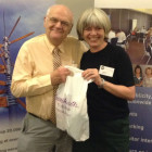 David Wootton, Telford Travel; Julie Greenhill, Massachusetts