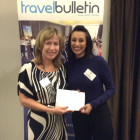 Julie Newman, Kellys Travel; Henika Patel, Caesars Entertainment