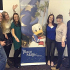 Steve Plummer, STA Travel; Eloise White, STA Travel; Hannah Denton Walt Disney World; Felicity Wightman, STA Travel; Mary Morrison, STA Travel; Russell Mears, Walt Disney World