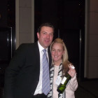 North America Bingo Wine Winner Hayley Pollard Access World Travel and Simon Eddolls, Travel Bulletin