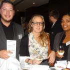 James Fordham, Bianca Crespo-Herrington and Wenitta Williams – all Arup Travel Desk