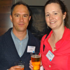 Chris Bos and Kristen Crossley – both Arup Travel Desk
