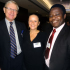 Keith Lloyd, Peacock Travel; Nina Farrimond, South Africa Tourism; Kayode Obijole, Peacock Travel