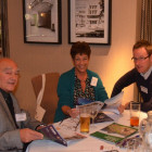 Victor Kaye and Barbara Goodman from Gadabouts Travel with Dan Jackson, Exodus.