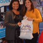 Daxha Buchanan, ATP Travel wins the Alaska Goody Bag from Maria Costa Lobo, Alaska