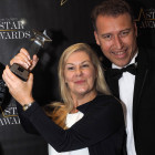 Over the moon with their win for Star Luxury Hotel Brand is Caroline Tjia and Quinton Smith from Lux* Resorts & Hotels.
