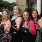 From the left: Sarah Poulton, Paula Campbell, Madeline McFadden and Loraine Mehta, all from Jetset.