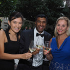 From the left: Monique Tse and Jay Desai, Mirabelle; Casey Mead, G Adventures.