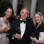 From the left: Stephanie Robins, Cyplon Holidays; Barry Moxley, The Traveltime Group; Lisa Eggleton, Kuoni.