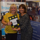 Lisa Palmer, Four Oaks Travel. Lily Alicabiotis Aegean Airlines