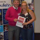 Rob Doran, RIU Hotels & Resorts. Rachel Wilcox, Thomas Cook Oldbury.