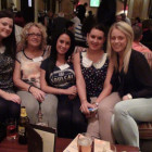 Nicole Robertson, Joan Jones, Danielle Metcalfe, Rebecca Hitchen and Kelly Macnicholas from Thomas Cook Cooperative Travel