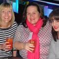Left - Right Hayley Newark, Holly Hyde, Zoe Winton All Flight Centre Kensington