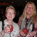 Linda Forshaw (left) and India Le Warne from Hilton Holidays get set to learn about Tobago.