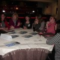 Jane Eastwood (left) from Residence Hotels & Resorts gives agents the heads up on new developments for 2013.