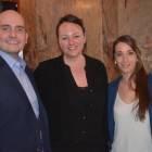Max Tchanturia from Half Moon Resort & Scrub Island, with AM Resorts Sarah Spooner and Marion Barrere